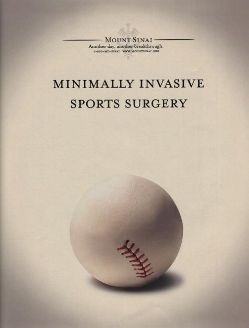 Mt  Sinai Hospital Cleans up Baseball - Make Brilliant Ideas