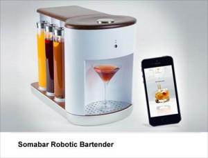 Somabar Robotic bar tender